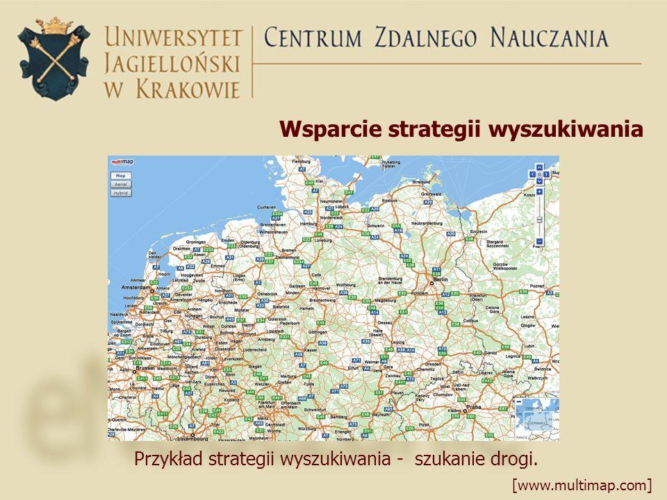 Wsparcie strategii wyszukiwania