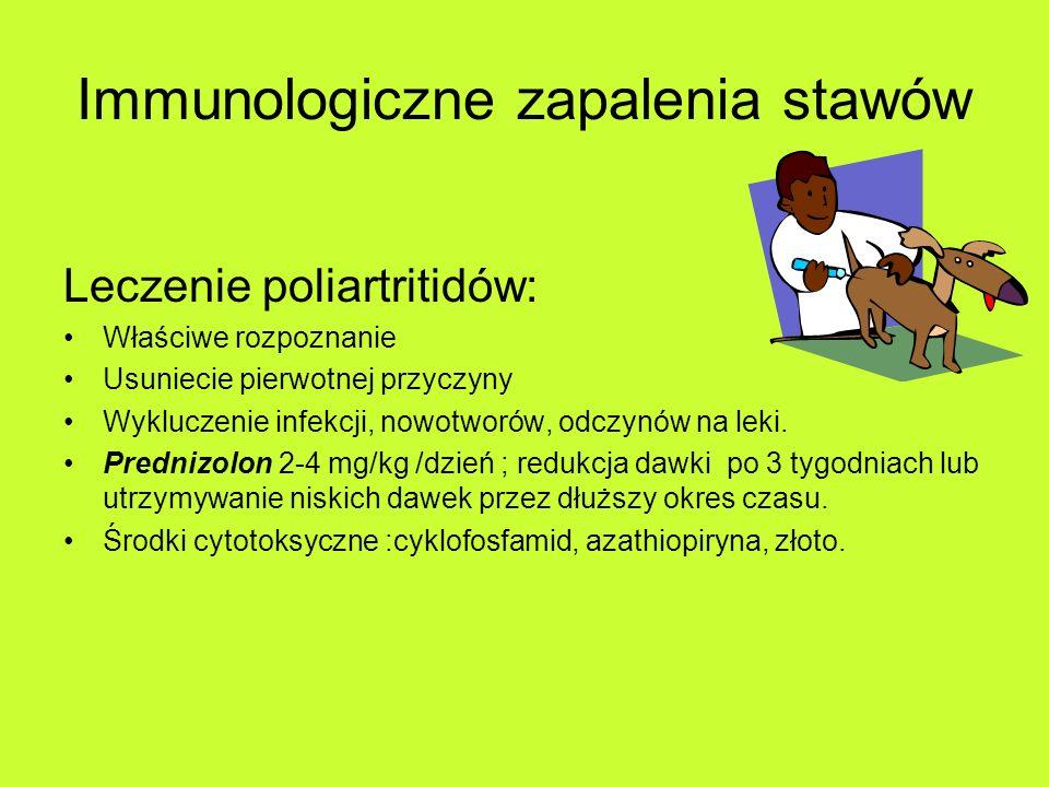 Immunologiczne zapalenia stawów