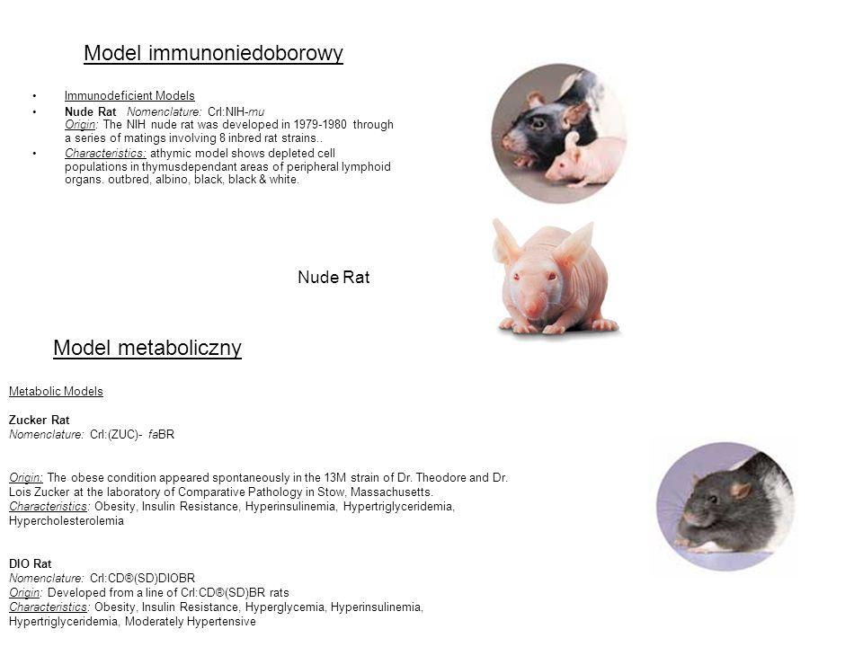 Model immunoniedoborowy