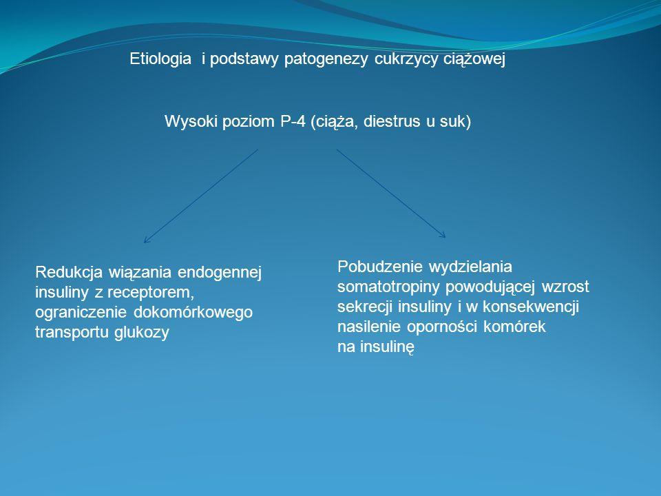 Etiologia i podstawy patogenezy cukrzycy ciążowej