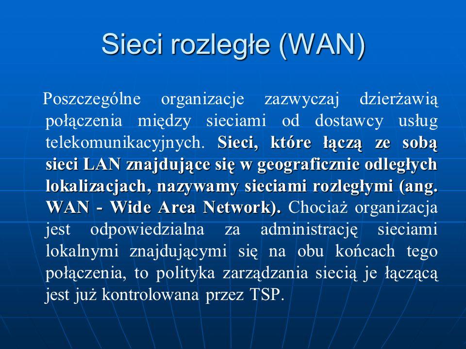 Sieci rozległe (WAN)