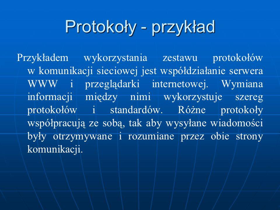 Protokoły - przykład