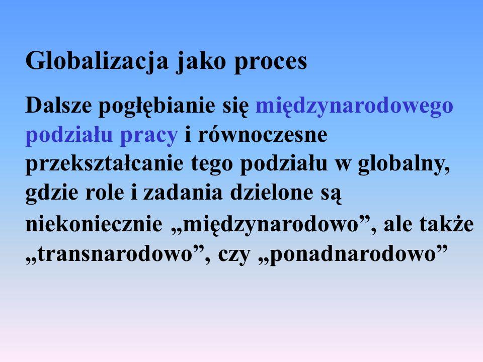 Globalizacja jako proces