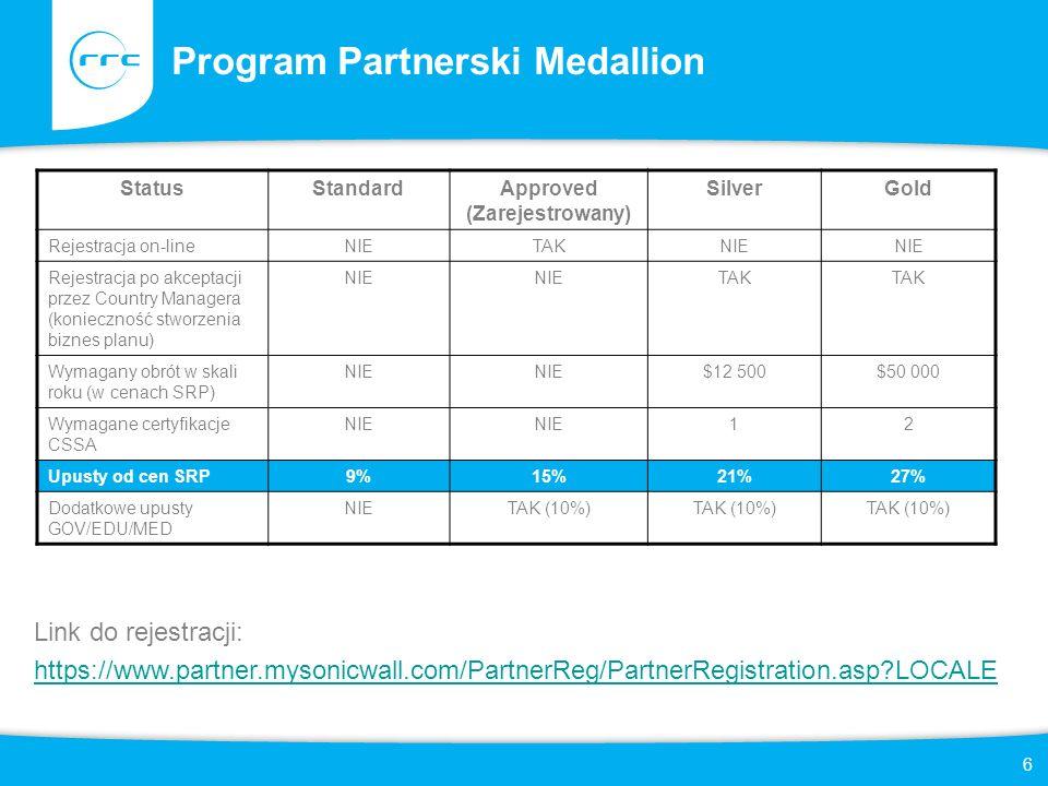 Program Partnerski Medallion