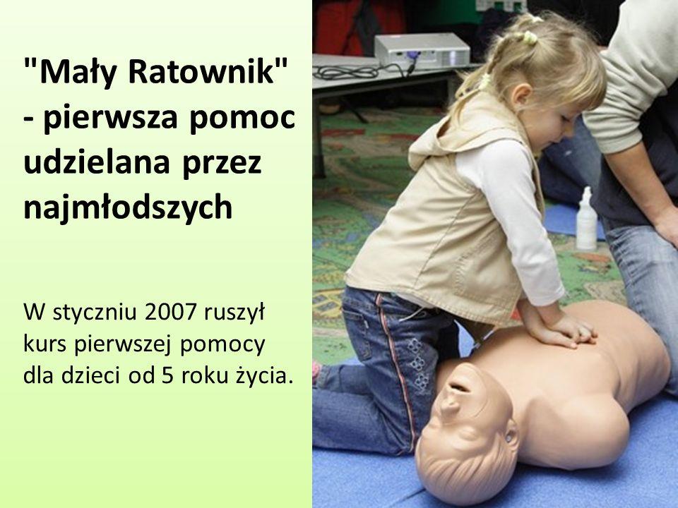 Mały Ratownik - pierwsza pomoc udzielana przez najmłodszych