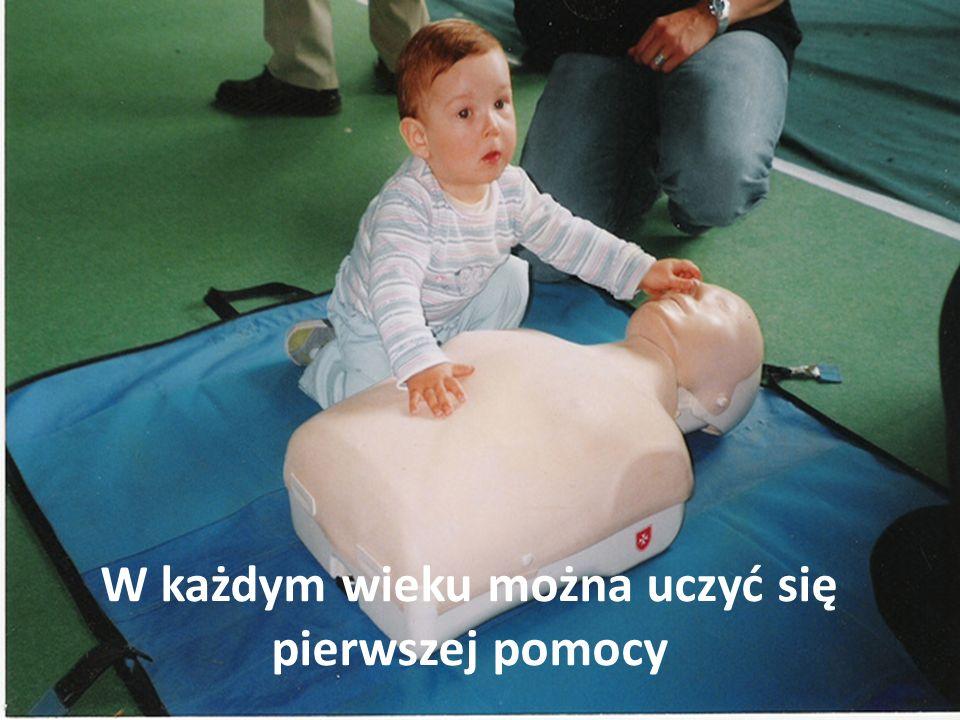W każdym wieku można uczyć się pierwszej pomocy