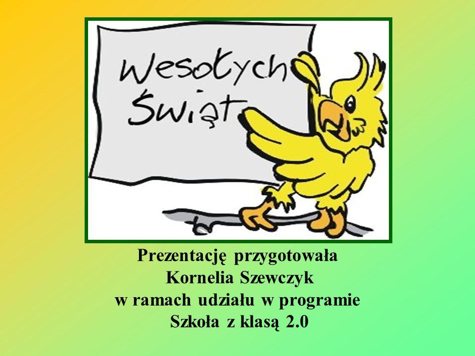 Prezentację przygotowała Kornelia Szewczyk w ramach udziału w programie Szkoła z klasą 2.0