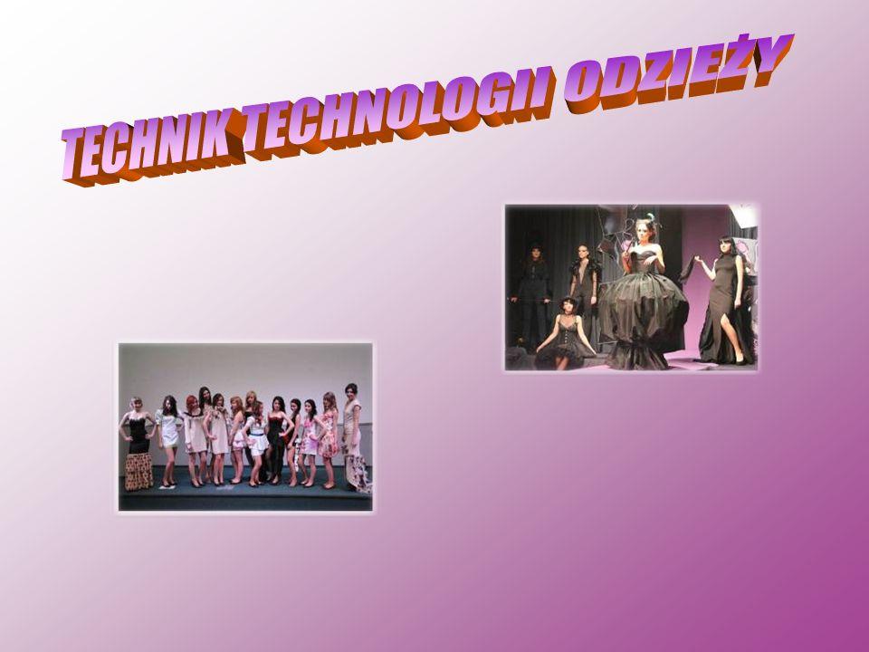 Technik Technologii Odzieży