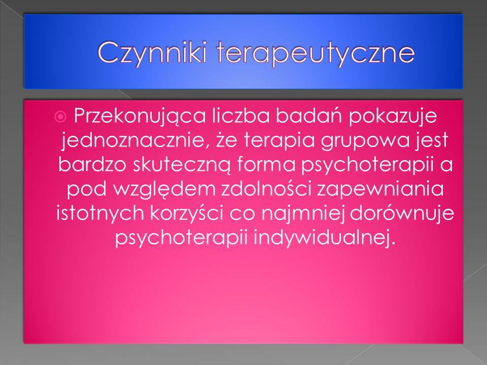 Czynniki terapeutyczne