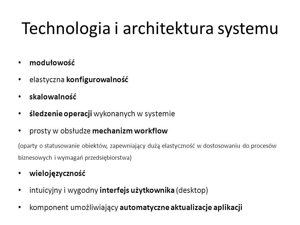 Technologia i architektura systemu