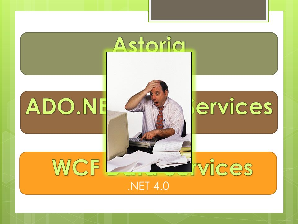 Astoria ADO.NET Data Services WCF Data Services