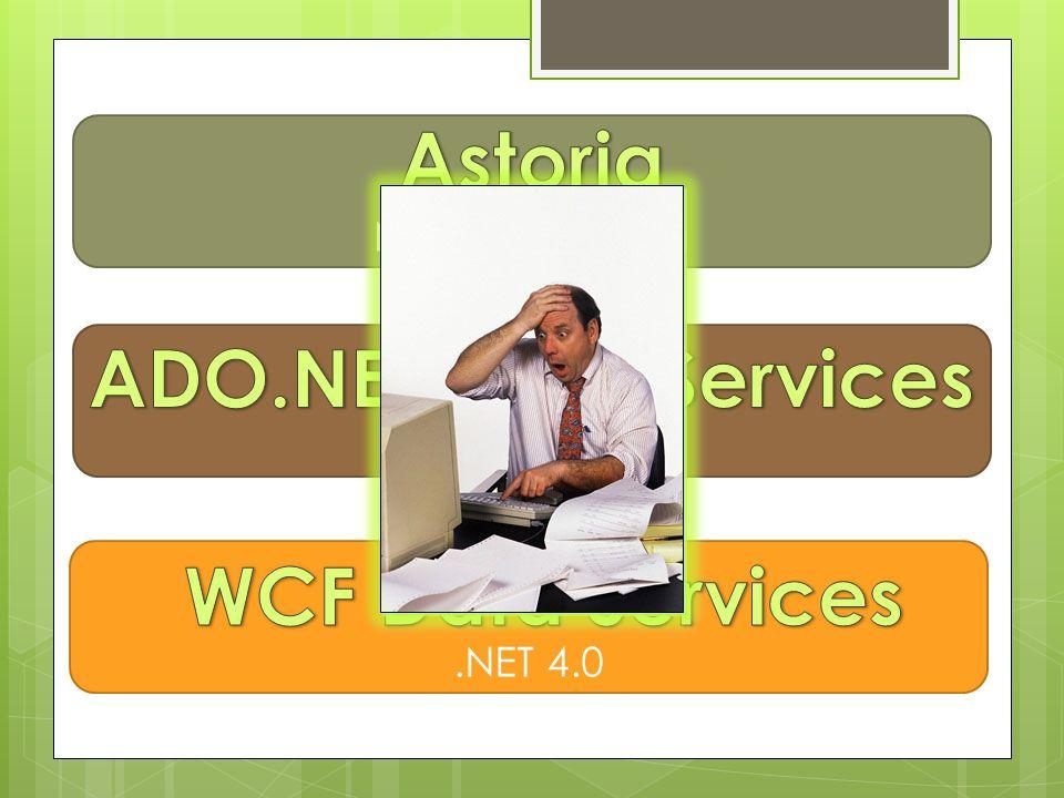 Astoria ADO.NET Data Services WCF Data Services