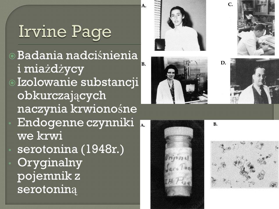 Irvine Page Badania nadciśnienia i miażdżycy