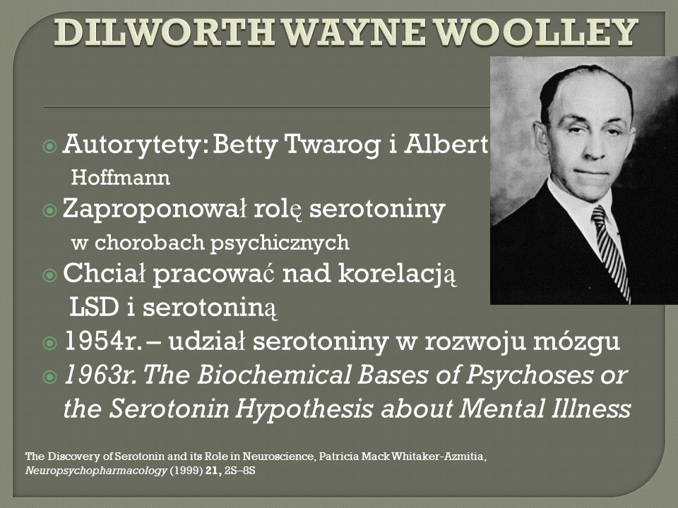 DILWORTH WAYNE WOOLLEY