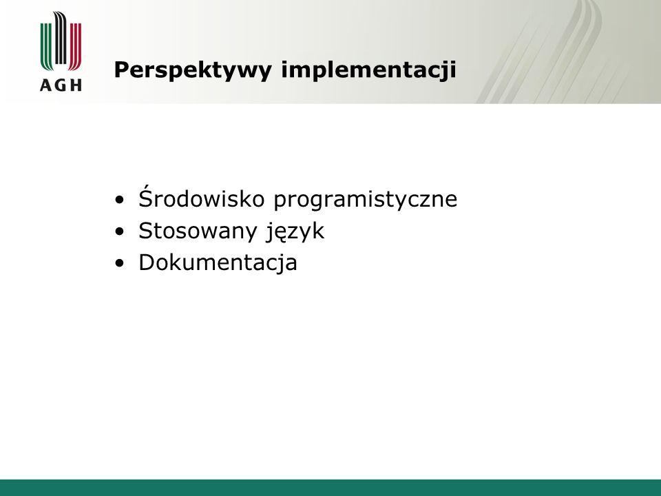 Perspektywy implementacji