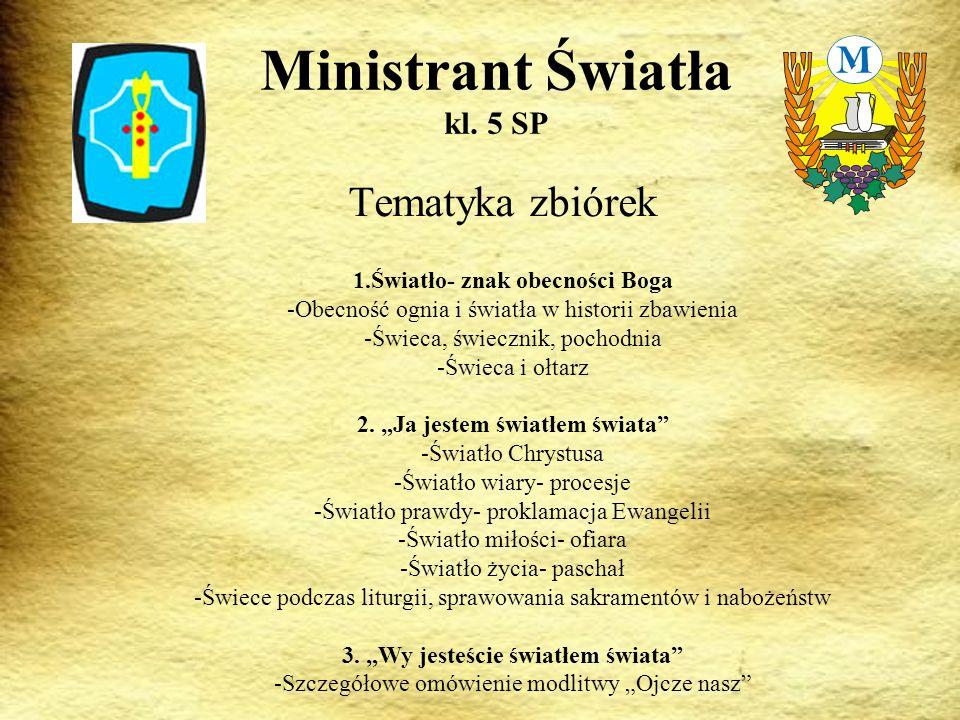 Ministrant Światła kl. 5 SP