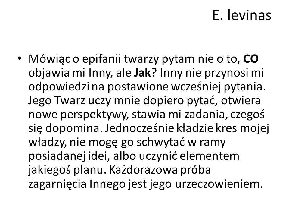 E. levinas