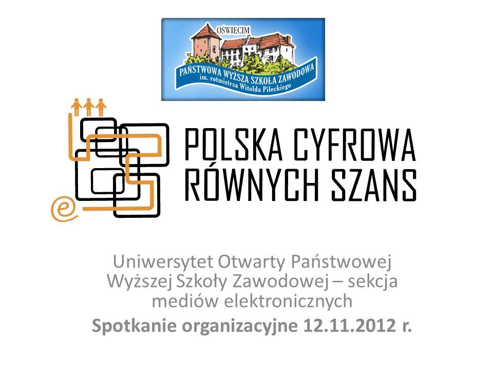 Spotkanie organizacyjne 12.11.2012 r.