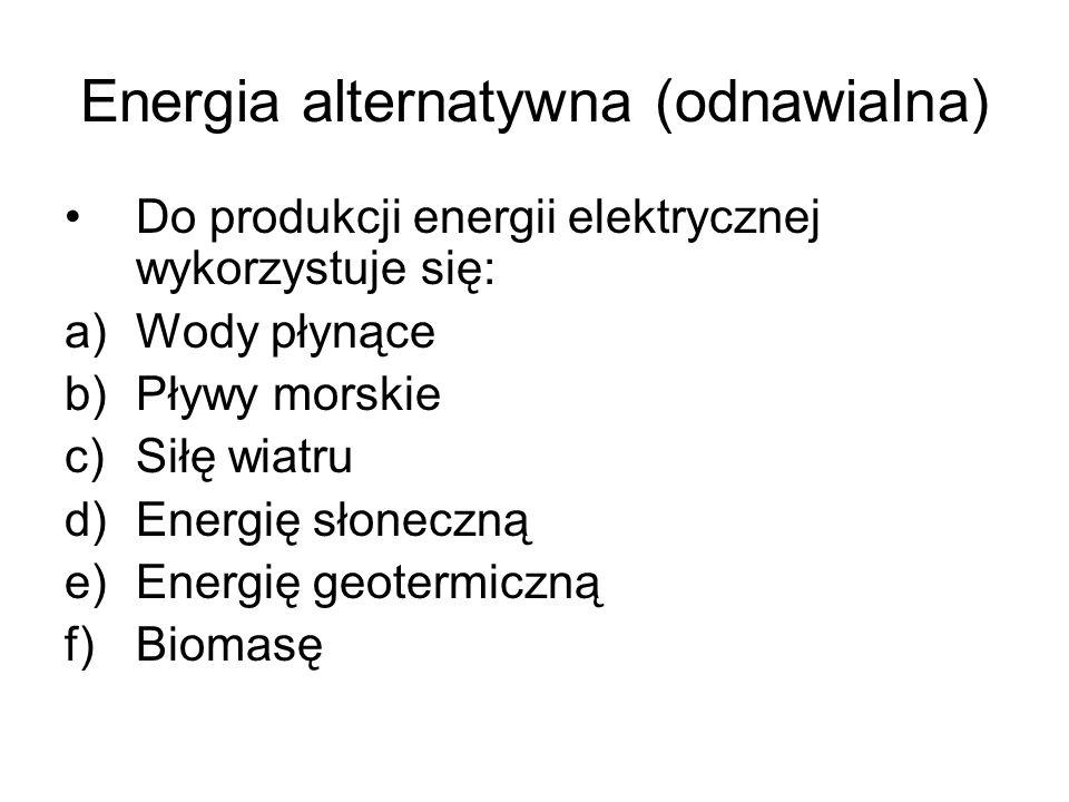 Energia alternatywna (odnawialna)