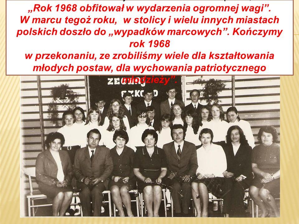 Pani kierownik szkoły Zdzisława Białek napisała, że