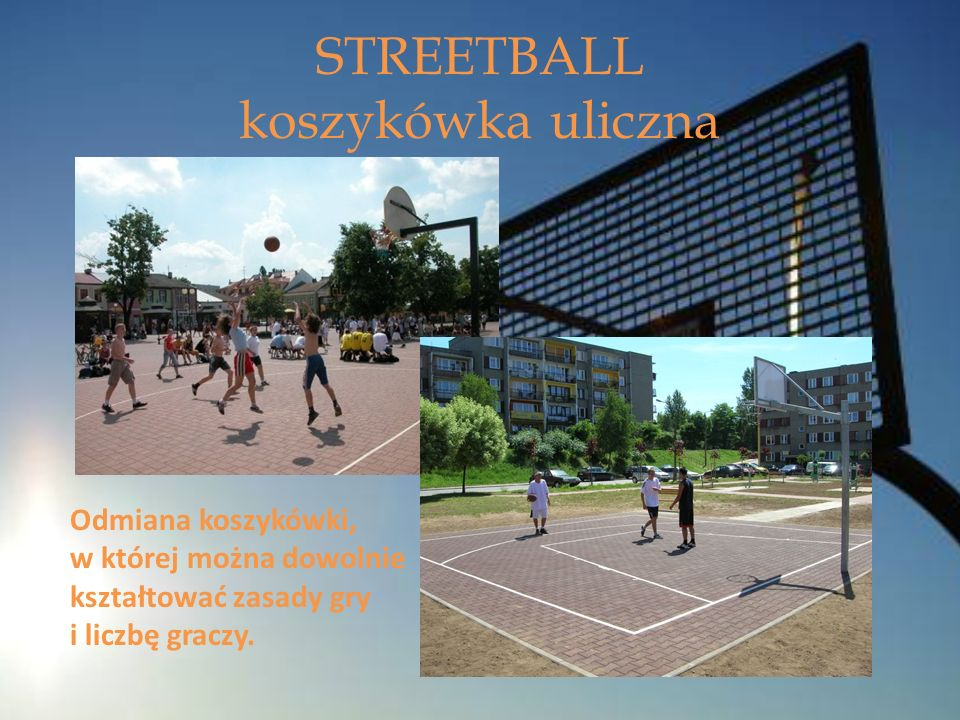 STREETBALL koszykówka uliczna
