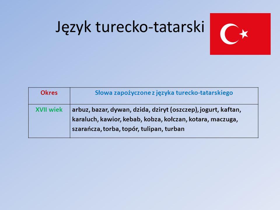 Język turecko-tatarski