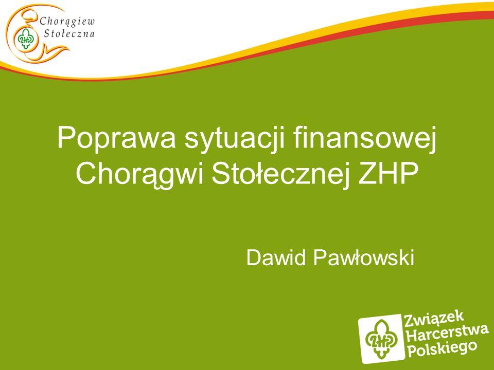 Poprawa sytuacji finansowej Chorągwi Stołecznej ZHP