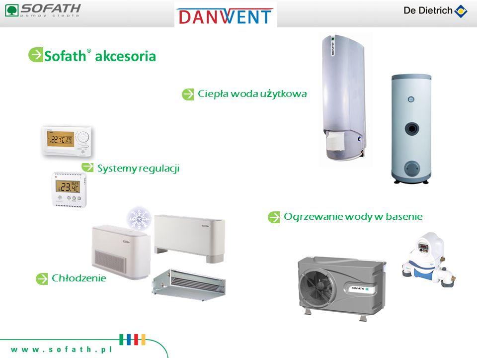 Sofath® akcesoria   Ciepła woda użytkowa Systemy regulacji