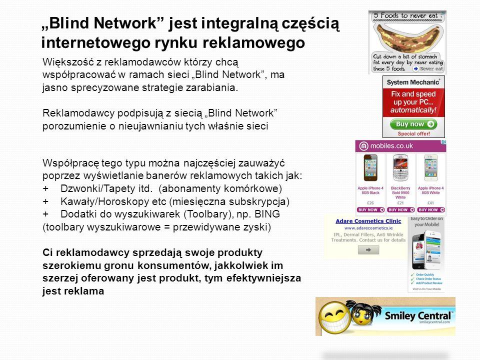 """""""Blind Network jest integralną częścią internetowego rynku reklamowego"""