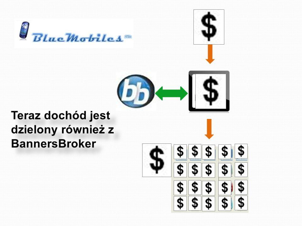 Teraz dochód jest dzielony również z BannersBroker