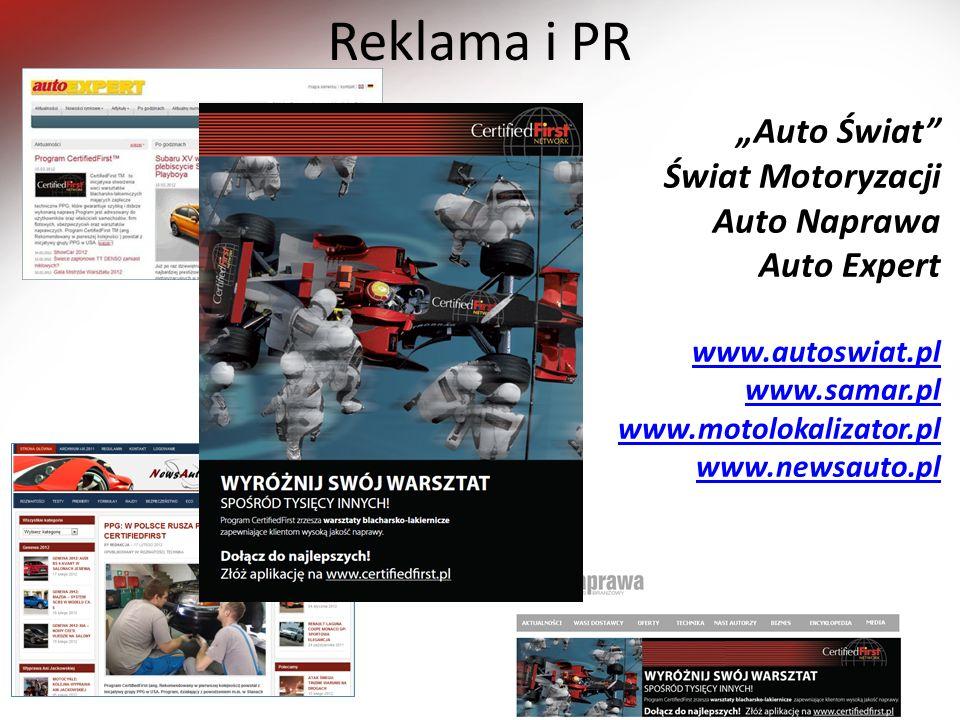 """Reklama i PR """"Auto Świat Świat Motoryzacji Auto Naprawa Auto Expert"""