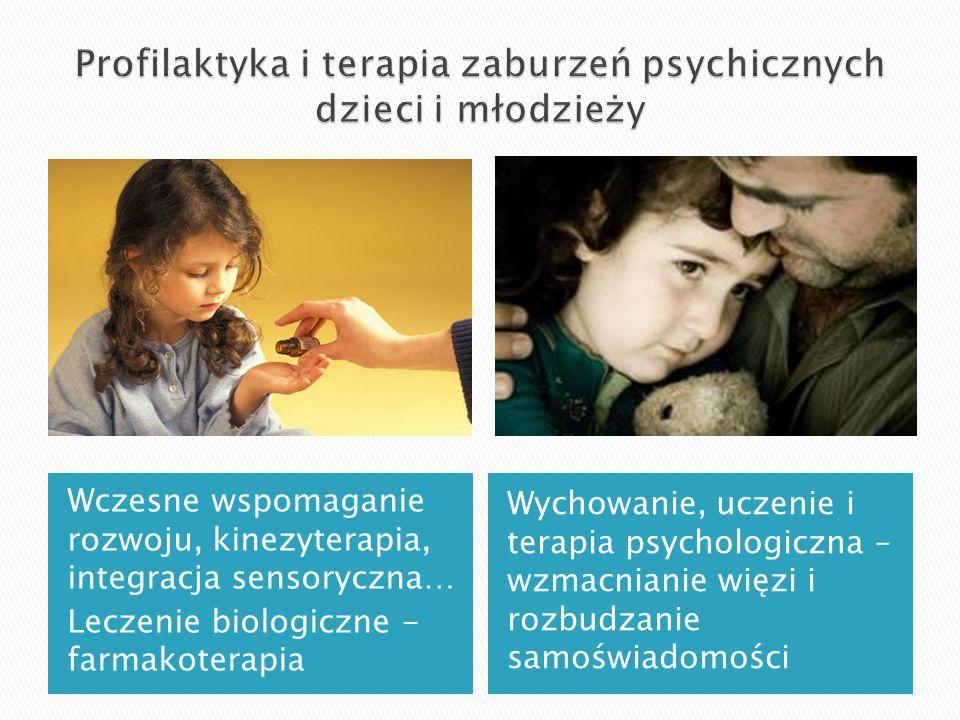 Profilaktyka i terapia zaburzeń psychicznych dzieci i młodzieży