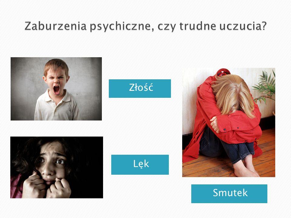 Zaburzenia psychiczne, czy trudne uczucia
