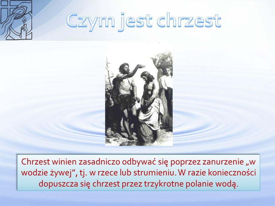 Czym jest chrzest
