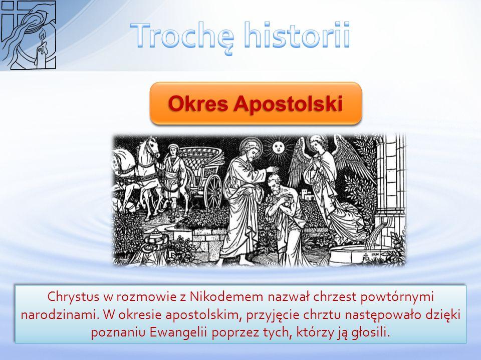 Trochę historii Okres Apostolski