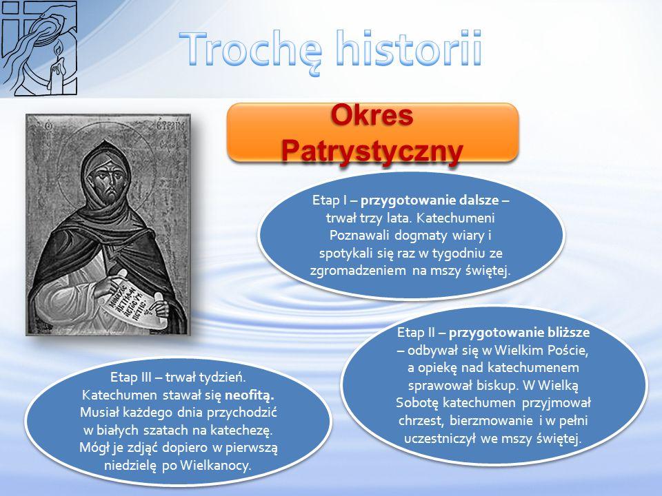 Trochę historii Okres Patrystyczny