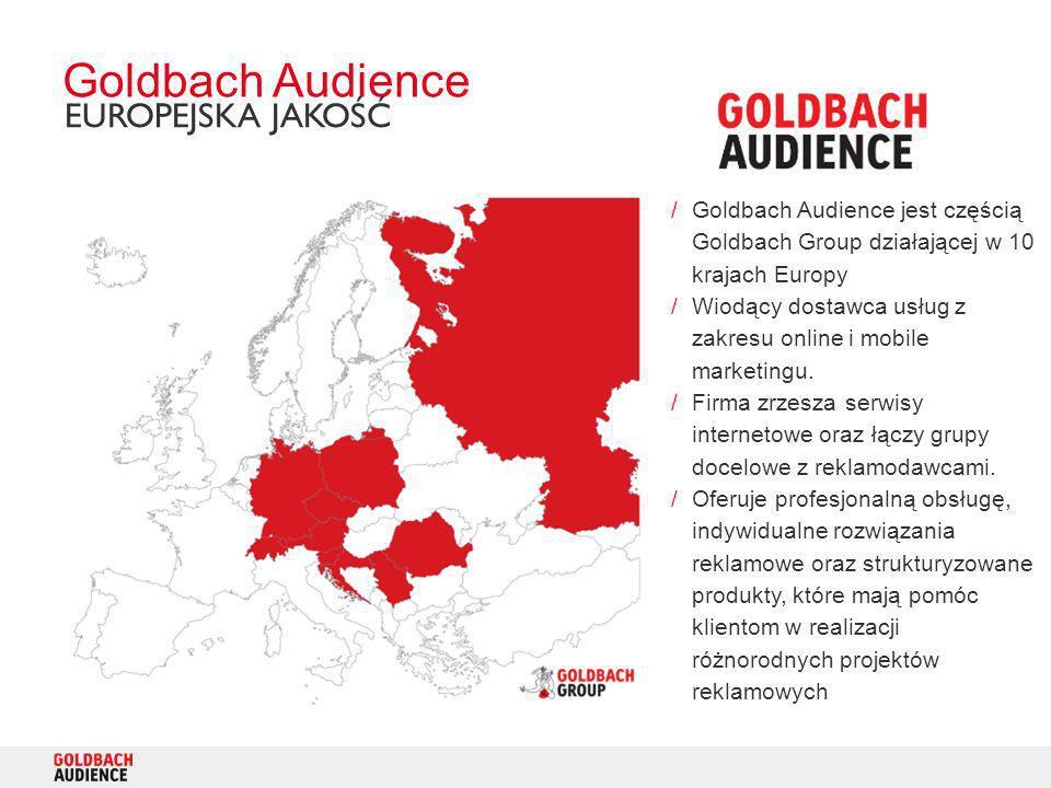 Goldbach Audience EUROPEJSKA JAKOŚĆ