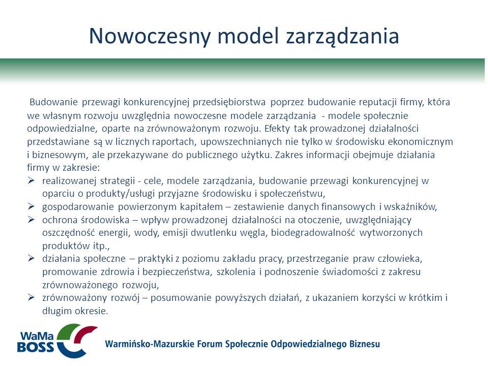 Nowoczesny model zarządzania