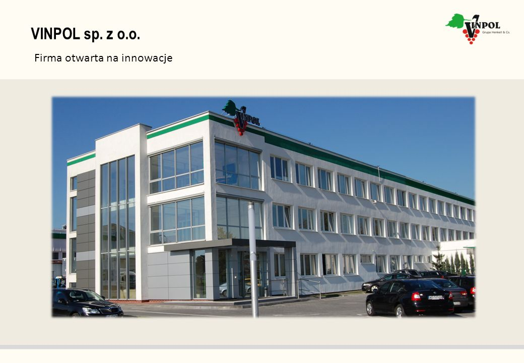 VINPOL sp. z o.o. Firma otwarta na innowacje