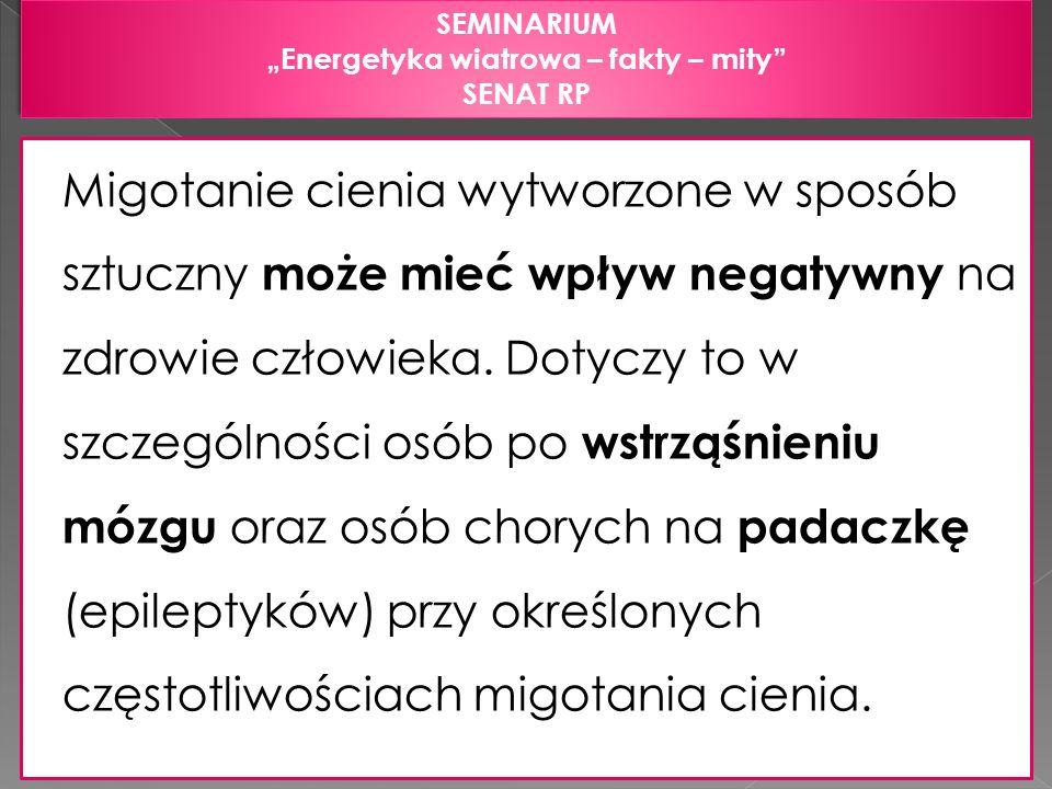 """""""Energetyka wiatrowa – fakty – mity"""