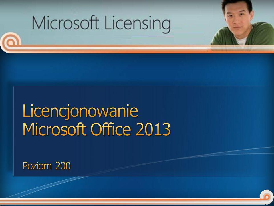 Licencjonowanie Microsoft Office 2013