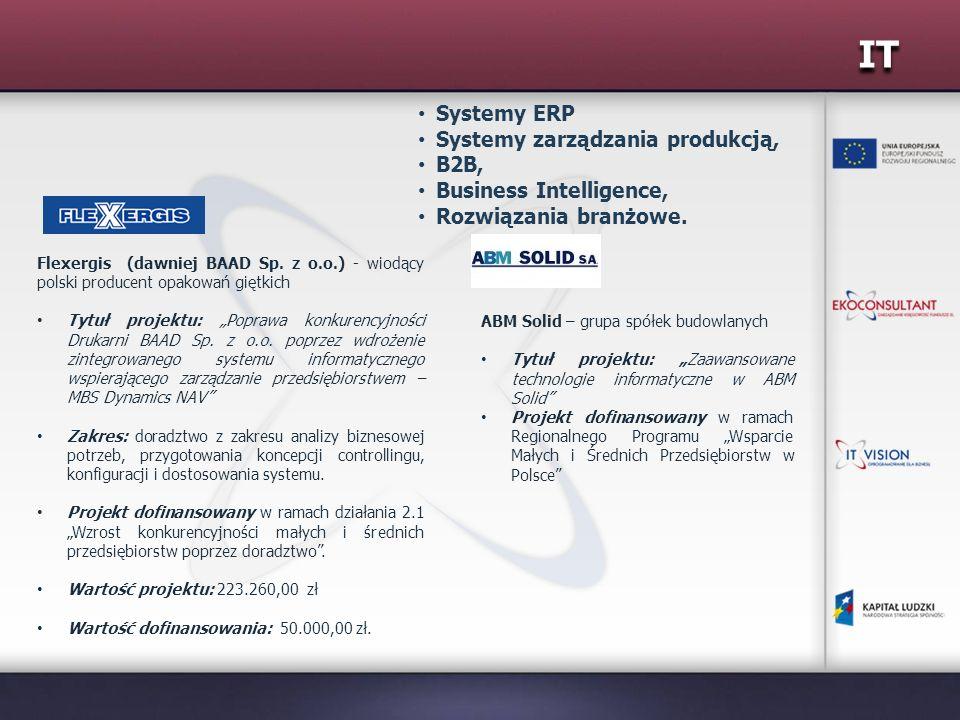 IT Systemy ERP Systemy zarządzania produkcją, B2B,