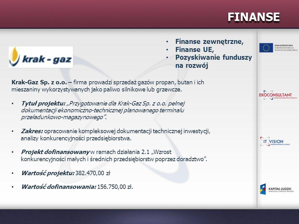 FINANSE Finanse zewnętrzne, Finanse UE,