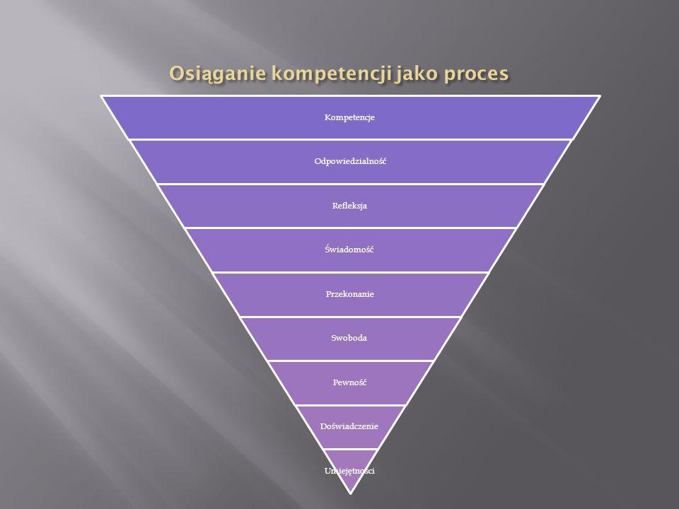 Osiąganie kompetencji jako proces