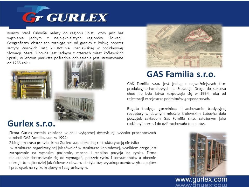 GAS Familia s.r.o. Gurlex s.r.o.