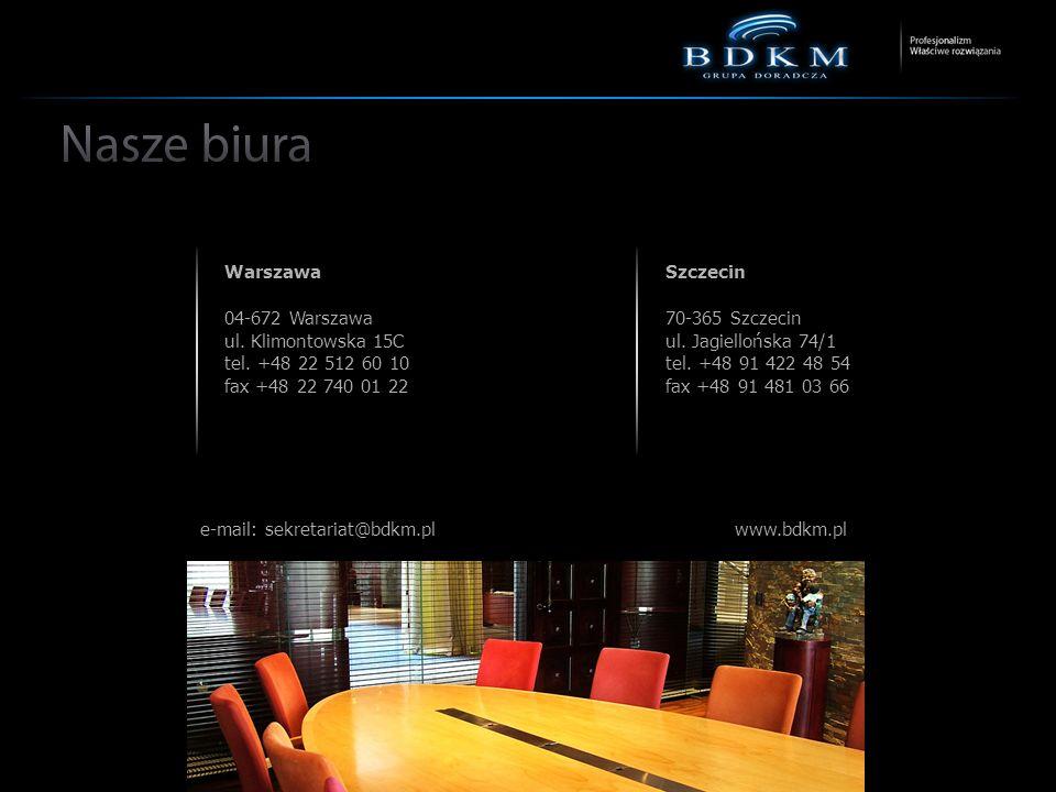 e-mail: sekretariat@bdkm.pl www.bdkm.pl