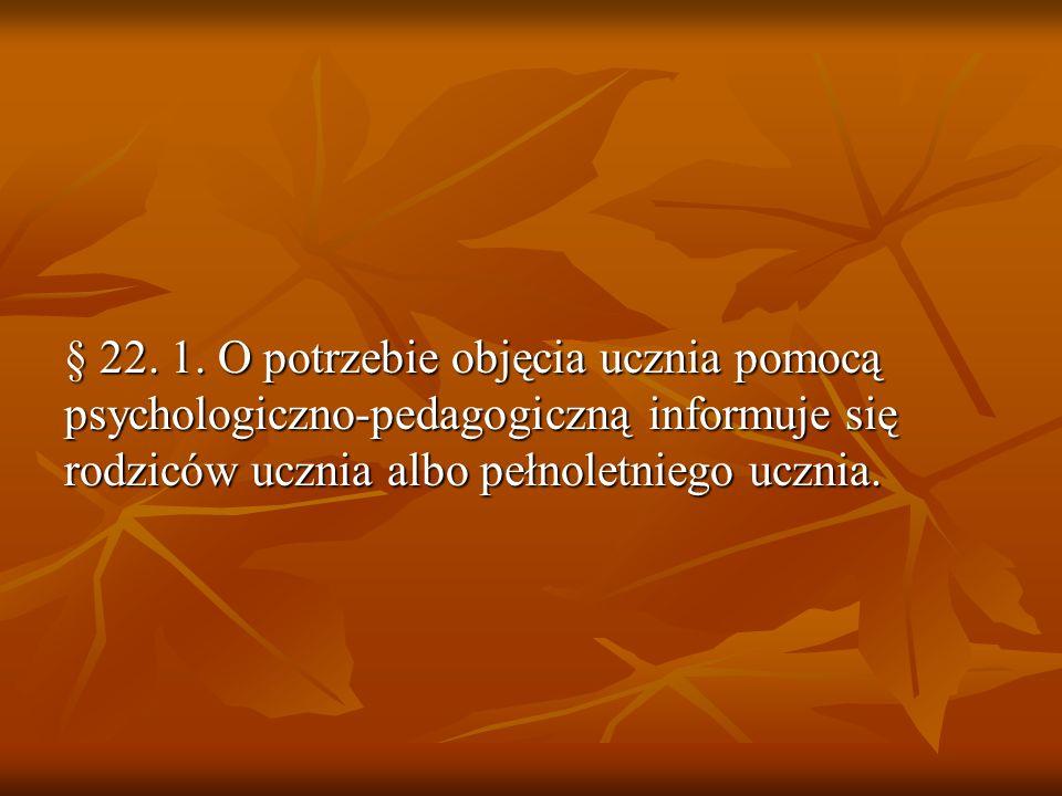 § 22. 1.
