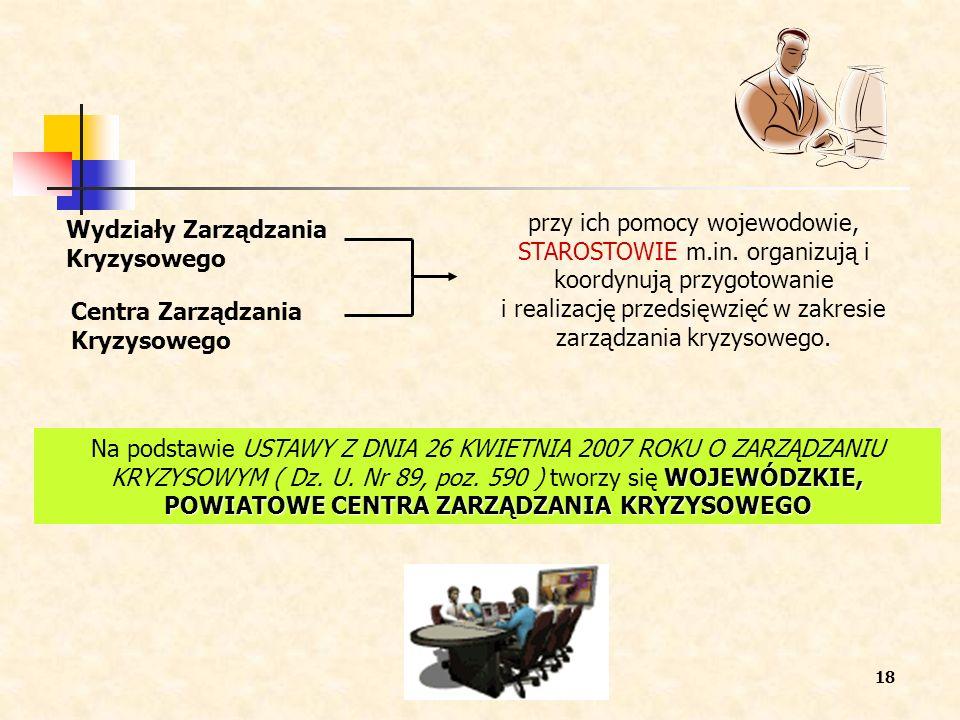 przy ich pomocy wojewodowie, STAROSTOWIE m. in
