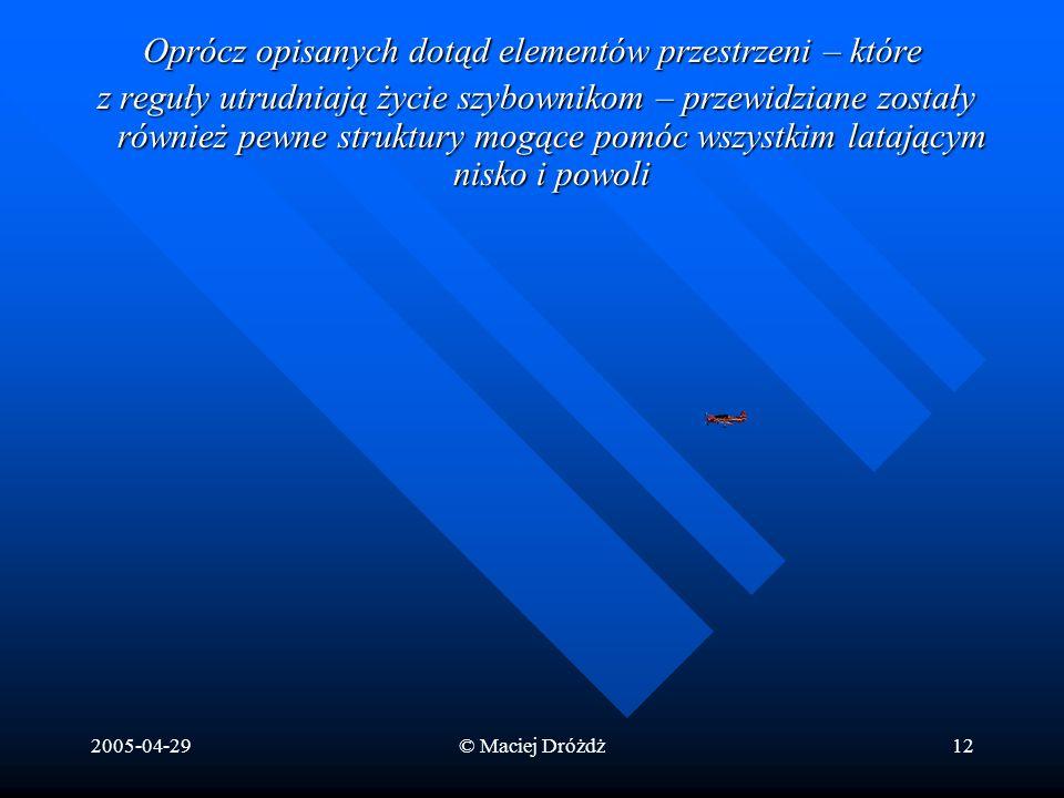 Oprócz opisanych dotąd elementów przestrzeni – które