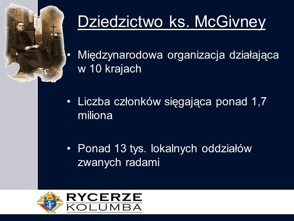 Dziedzictwo ks. McGivney